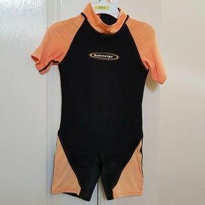 Kids wetsuit, sz 6